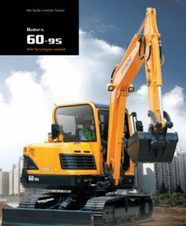 Brochure Mini Excavator R60-9s
