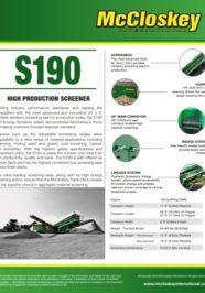S190 Screener Brochure